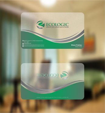 Ecologic Architectural Solutions Business Cards and Stationery  Draft # 114 by Deck86