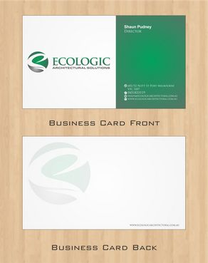 Ecologic Architectural Solutions Business Cards and Stationery  Draft # 112 by Deck86