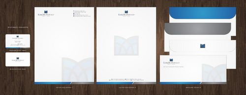 Stationary, Letterhead, Business Cards & Envelopes Business Cards and Stationery  Draft # 223 by Deck86