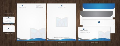 Stationary, Letterhead, Business Cards & Envelopes Business Cards and Stationery  Draft # 222 by Deck86