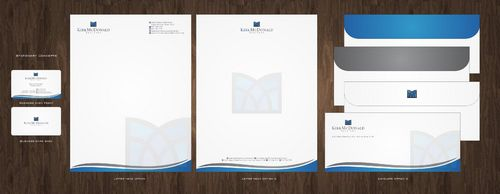 Stationary, Letterhead, Business Cards & Envelopes Business Cards and Stationery  Draft # 221 by Deck86