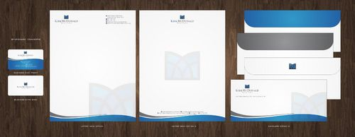 Stationary, Letterhead, Business Cards & Envelopes Business Cards and Stationery  Draft # 220 by Deck86