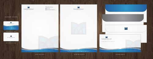 Stationary, Letterhead, Business Cards & Envelopes Business Cards and Stationery  Draft # 224 by Deck86