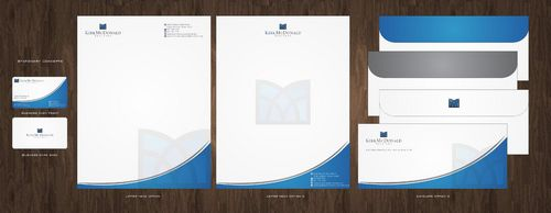 Stationary, Letterhead, Business Cards & Envelopes Business Cards and Stationery  Draft # 227 by Deck86