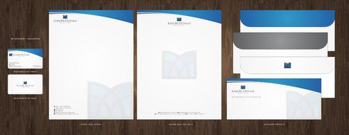 Stationary, Letterhead, Business Cards & Envelopes Business Cards and Stationery  Draft # 226 by Deck86