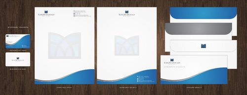 Stationary, Letterhead, Business Cards & Envelopes Business Cards and Stationery  Draft # 225 by Deck86