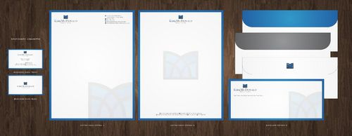 Stationary, Letterhead, Business Cards & Envelopes Business Cards and Stationery  Draft # 231 by Deck86