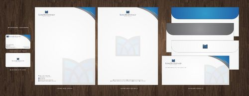Stationary, Letterhead, Business Cards & Envelopes Business Cards and Stationery  Draft # 228 by Deck86