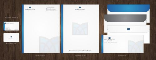 Stationary, Letterhead, Business Cards & Envelopes Business Cards and Stationery  Draft # 229 by Deck86