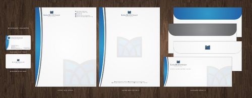 Stationary, Letterhead, Business Cards & Envelopes Business Cards and Stationery  Draft # 236 by Deck86