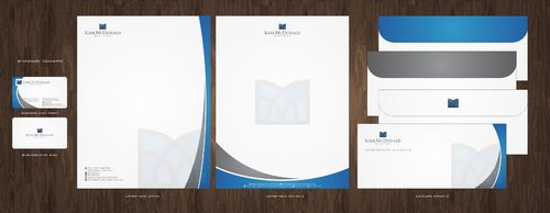 Stationary, Letterhead, Business Cards & Envelopes Business Cards and Stationery  Draft # 240 by Deck86