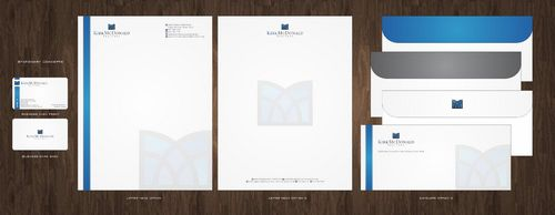 Stationary, Letterhead, Business Cards & Envelopes Business Cards and Stationery  Draft # 232 by Deck86