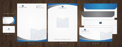 Stationary, Letterhead, Business Cards & Envelopes Business Cards and Stationery  Draft # 238 by Deck86
