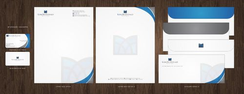 Stationary, Letterhead, Business Cards & Envelopes Business Cards and Stationery  Draft # 239 by Deck86