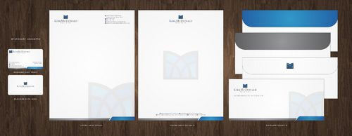 Stationary, Letterhead, Business Cards & Envelopes Business Cards and Stationery  Draft # 234 by Deck86