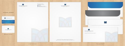 Stationary, Letterhead, Business Cards & Envelopes Business Cards and Stationery  Draft # 235 by Deck86