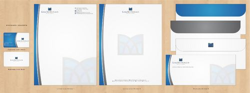 Stationary, Letterhead, Business Cards & Envelopes Business Cards and Stationery  Draft # 237 by Deck86