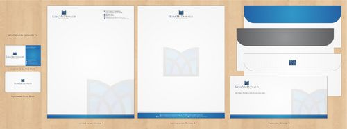 Stationary, Letterhead, Business Cards & Envelopes Business Cards and Stationery  Draft # 230 by Deck86