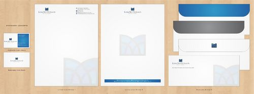 Stationary, Letterhead, Business Cards & Envelopes Business Cards and Stationery  Draft # 242 by Deck86