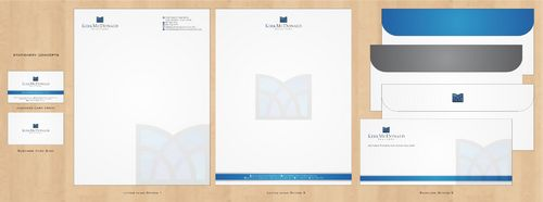 Stationary, Letterhead, Business Cards & Envelopes Business Cards and Stationery  Draft # 244 by Deck86