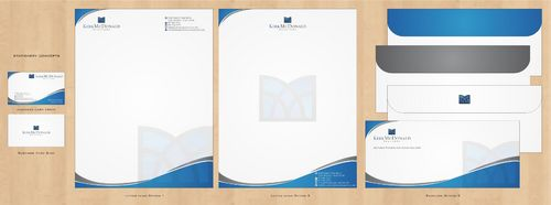 Stationary, Letterhead, Business Cards & Envelopes Business Cards and Stationery  Draft # 243 by Deck86