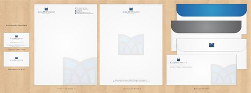 Stationary, Letterhead, Business Cards & Envelopes Business Cards and Stationery  Draft # 245 by Deck86
