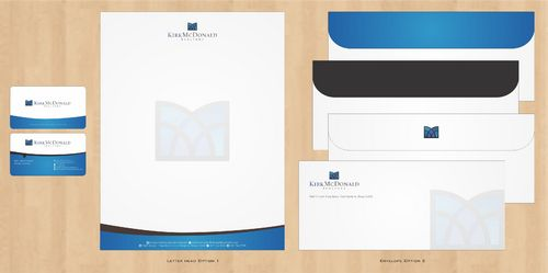 Stationary, Letterhead, Business Cards & Envelopes Business Cards and Stationery  Draft # 248 by Deck86