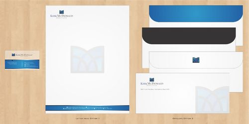 Stationary, Letterhead, Business Cards & Envelopes Business Cards and Stationery  Draft # 246 by Deck86