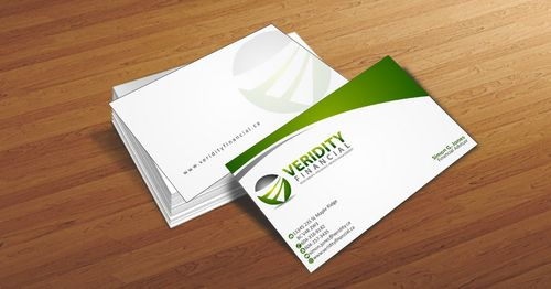 Veridity Financial Business Cards and Stationery  Draft # 99 by Deck86