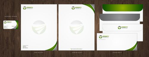 Veridity Financial Business Cards and Stationery  Draft # 118 by Deck86