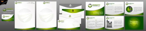 Veridity Financial Business Cards and Stationery  Draft # 120 by einsanimation