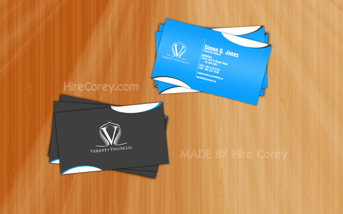 Veridity Financial Business Cards and Stationery  Draft # 123 by sheldon911