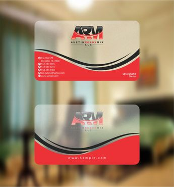 Austin Ready Mix, LLC Business Cards and Stationery  Draft # 89 by Deck86