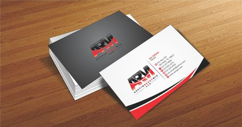Austin Ready Mix, LLC Business Cards and Stationery  Draft # 96 by Deck86