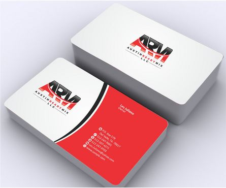 Austin Ready Mix, LLC Business Cards and Stationery  Draft # 113 by Deck86