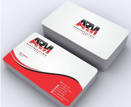 Austin Ready Mix, LLC Business Cards and Stationery  Draft # 117 by Deck86