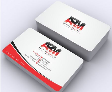 Austin Ready Mix, LLC Business Cards and Stationery  Draft # 119 by Deck86