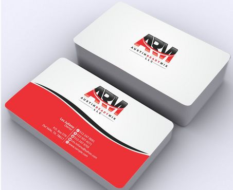 Austin Ready Mix, LLC Business Cards and Stationery  Draft # 120 by Deck86