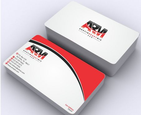 Austin Ready Mix, LLC Business Cards and Stationery  Draft # 121 by Deck86