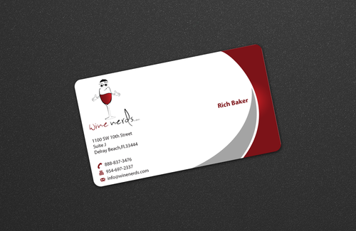 Rich Baker Business Cards and Stationery  Draft # 14 by einsanimation