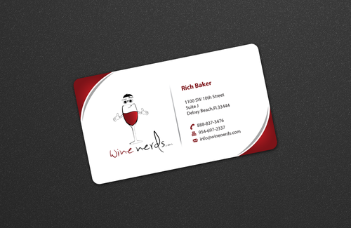 Rich Baker Business Cards and Stationery  Draft # 16 by einsanimation