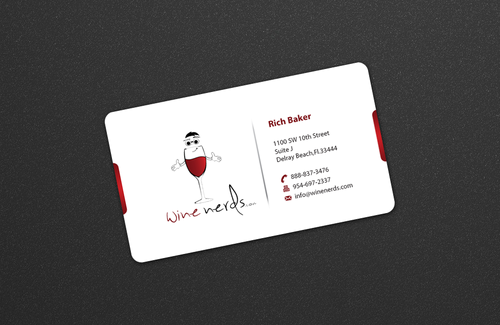 Rich Baker Business Cards and Stationery  Draft # 15 by einsanimation