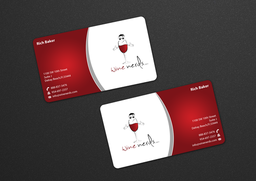 Rich Baker Business Cards and Stationery  Draft # 17 by einsanimation