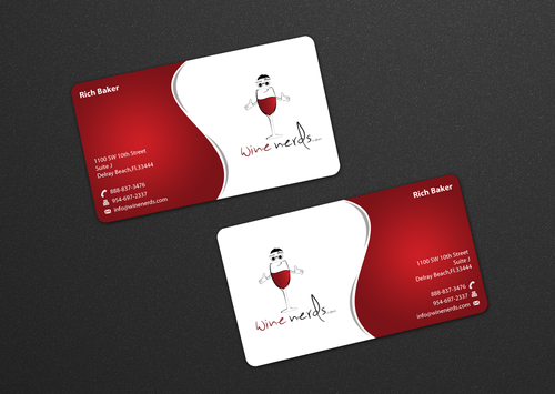 Rich Baker Business Cards and Stationery  Draft # 20 by einsanimation