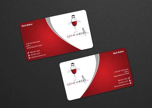 Rich Baker Business Cards and Stationery  Draft # 21 by einsanimation