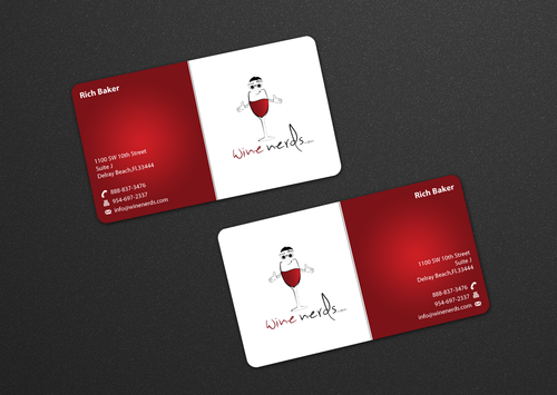 Rich Baker Business Cards and Stationery  Draft # 23 by einsanimation