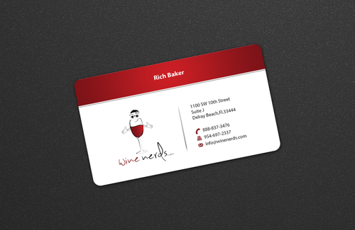 Rich Baker Business Cards and Stationery  Draft # 29 by einsanimation