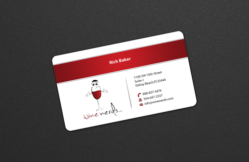 Rich Baker Business Cards and Stationery  Draft # 28 by einsanimation