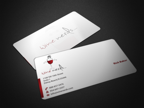 Rich Baker Business Cards and Stationery  Draft # 36 by einsanimation