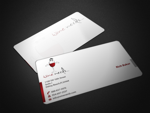 Rich Baker Business Cards and Stationery  Draft # 37 by einsanimation